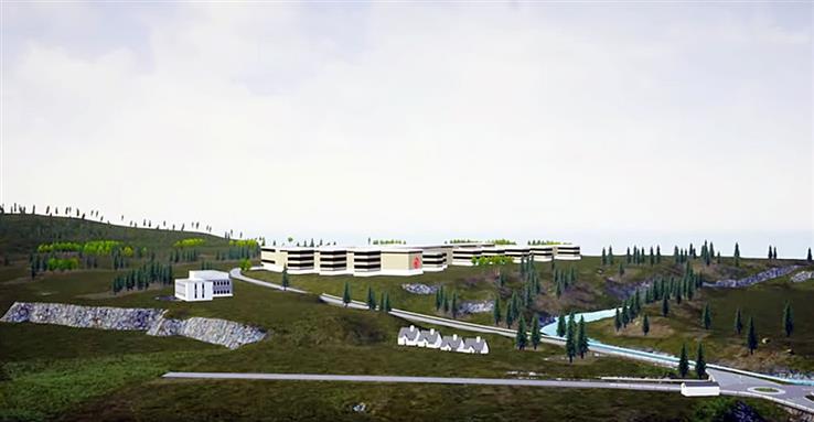 Slik kan sykehuset på Biri se ut, dersom Gjøvik kommune klarer å få gjennomslag