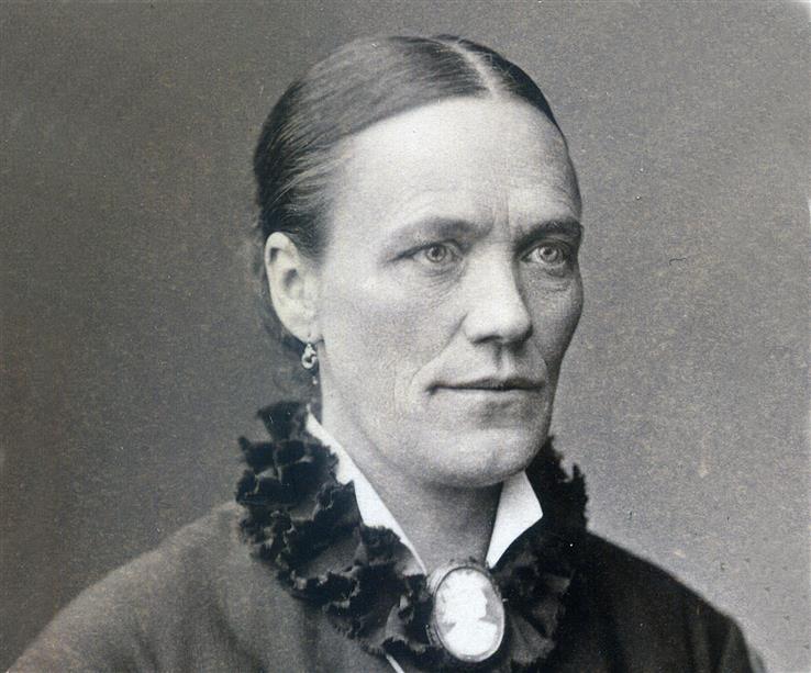 Madam Pedersen var en tøff forretningskvinne.