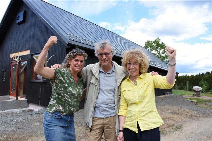 Anne Toril Klette, Lars Ligaarden og Ingebjørg Felde i Snertingdal Nærmiljøpark kunne nylig slippe jubelen løs. De fikk ja på sin søknad om å lage et etter skole-tilbud for elever fra 5. til 10. trinn i Snertingdal.