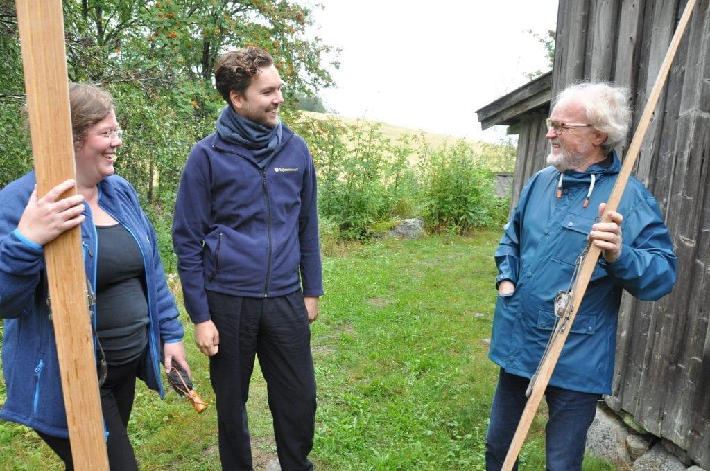 Mjøsmuseet, ved Ingvild Hasle og Evald Fredholm, ser fram til at Viggo skal fortelle om Olaf Hoffsbakken torsdag 15. august.