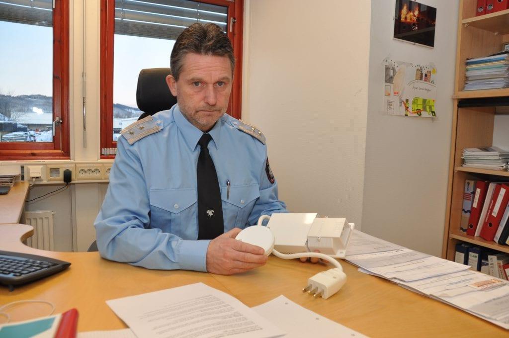 Sjekk røykvarsleren og installer komfyrvakt hvis du ikke har det, oppfordrer Jørn Haugen, leder for forebyggende avdeling hos Gjøvik brannvesen.